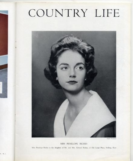 1958 COUNTRY LIFE Magazine ASHTEAD PARK Little Haugh Hall PENELOPE RICHES Mtubatuba Reserve  (3023)